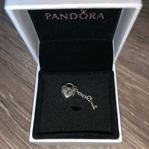 Pandora Heart Lock and Key Charm.
